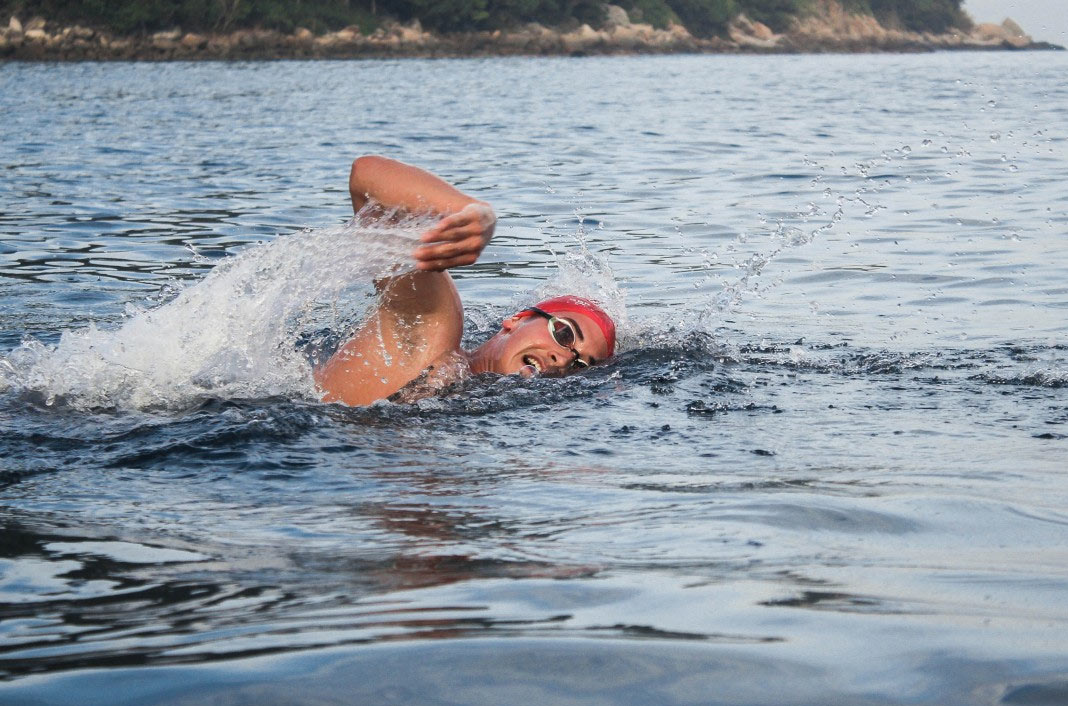 Swimming Lake Winderere with a resilience mindset